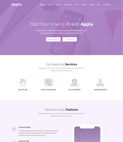 Unfold - Free Responsive Portfolio Website Templates