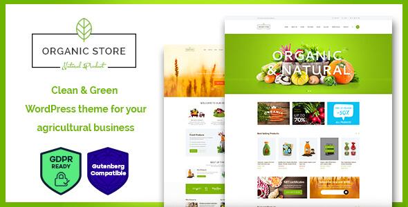 Top Wordpress Themes For An Organic Food Shop 2019